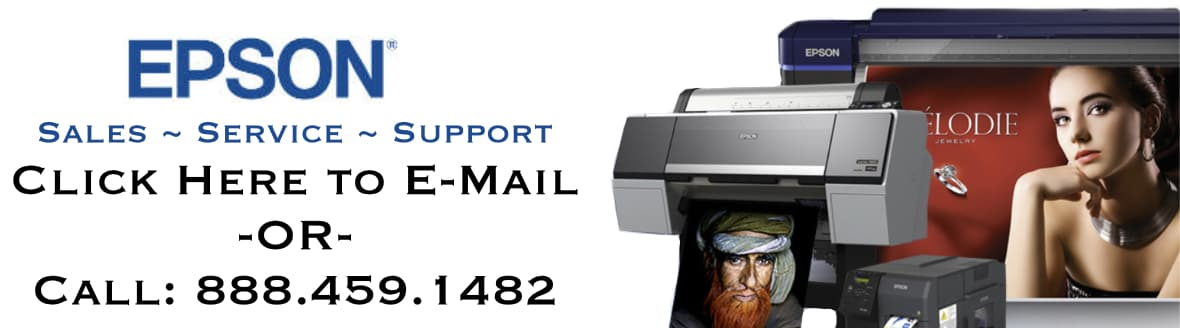 Epson Sales, Service and Support. Call: 888.459.1482