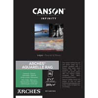"Canson Infinity ARCHES Aquarelle Rag 310gsm Matte - 11"" x 17"" (25 Sheets)"