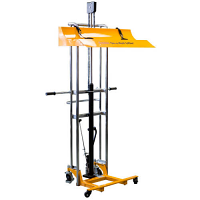 "On-a-Roll Lifter® Hi-Rise Lifts rolls up to 71""H"