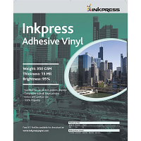 "Inkpress Adhesive Vinyl 13"" x 19"" - 20 sheets"