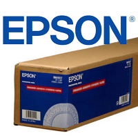 """Epson Enhanced Matte Inkjet Paper - 64"""" x 100' Roll"""