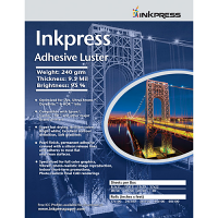 "Inkpress Adhesive Luster 190 11"" x 14"" - 20 sheets"