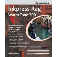 "Inkpress Rag Warm 300 11"" x 14"" - 25 sheets"