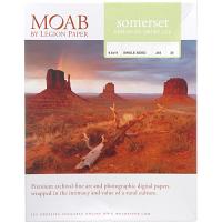 """Moab Somerset Enhanced Velvet 225gsm Archival Photo Inkjet Paper, 8.5"""" x 11"""" (25 Sheets)"""
