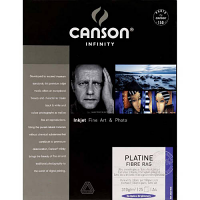 """Canson Infinity Platine Fibre Rag 310gsm - 11"""" x 17"""", 25 Sheets"""