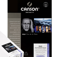 "Canson Infinity Rag Photographique 310gsm - 11"" x 17"", 25 Sheets"