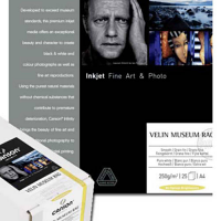 """Canson Infinity Velin Museum Rag 250gsm - 11"""" x 17"""", 25 Sheets"""