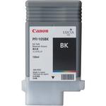 Canon PFI-105BK Black Ink Tank for IPF6300/6350 (130ml)