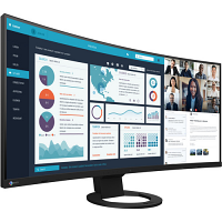 "EIZO FlexScan EV3895FX-BK 37.5"" 24:10 Ultrawide Curved IPS Monitor (Black)"