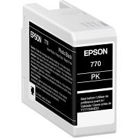 Epso UltraChrome PRO10 Photo Black Ink Cartridge (25mL)