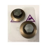 Composite twin wheel cutter blade set for SteelTrak