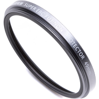 FUJIFILM Protective Filter PRF-49mm (Silver)
