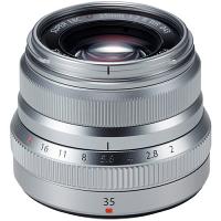 FUJIFILM XF35mmF2 R WR Lens (Silver)