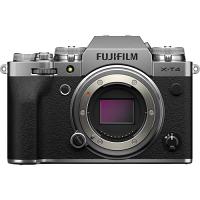 FUJIFILM X-t4 Mirrorless Camera (Silver, Body Only)