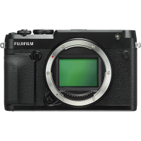 FUJIFILM GFX 50R Medium Format Mirrorless Camera (Body Only, Black)