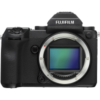 FUJIFILM GFX 50S Medium Format Mirrorless Camera (Body Only, Black)