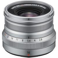 FUJIFILM XF16mmF2.8 R WR Lens (Silver)
