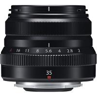 FUJIFILM XF35mmF2 R WR Lens (Black)