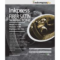 """Inkpress Fiber Satin Warm Tone Paper (11"""" x 14"""" - 25 Sheets)"""