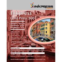 "Inkpress Cold Press 300 Archival Inkjet Paper (11"" x 14"", 25 Sheets)"