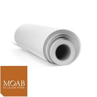 "Moab Juniper Baryta Rag 305gsm - 17"" x 50' Roll"