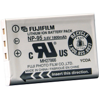 FUJIFILM NP-95W Lithium Ion Rechargeable (X70)