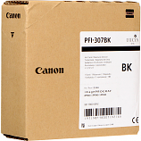 Canon PFI-307BK Black Ink Cartridge (330 mL)