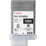 Canon PFI-102MBK Matte Black Ink Tank (130 ml)