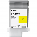 Canon PFI-107Y Yellow Ink Cartridge (130 ml)