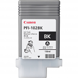 Canon PFI-102BK Black Ink Tank (130 ml)