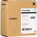 Canon PFI-307MBK Matte Black Ink Cartridge (330 mL)